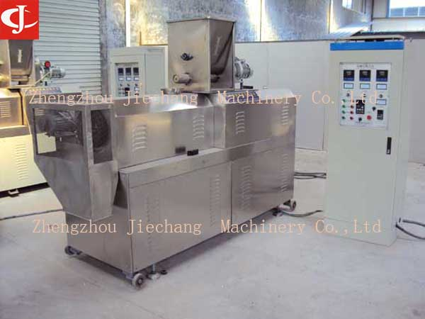 corn Soybean rice puff snack extruder